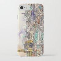 vienna iPhone & iPod Cases featuring Vienna by Eurekawanders