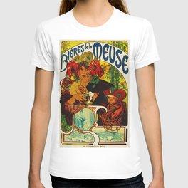 Vintage Art Nouveau Beer Ad T-shirt