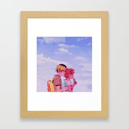Kenma & Hinata - Summer feelings Framed Art Print
