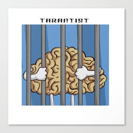TarantisT - Locked Up Brain Canvas Print