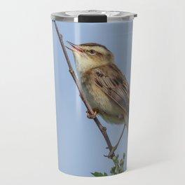 Sedge Warbler Travel Mug