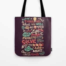 Solving Problems, Making Things Tote Bag