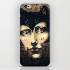 Cat Story iPhone & iPod Skin