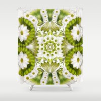 flawless Shower Curtains featuring Flawless by LollyPix