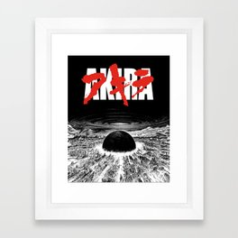AKIRA - Neo Tokyo Is About To Explode Framed Art Print