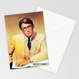 Gregory Peck, Vintage Actor Stationery Cards