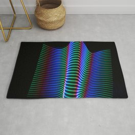 Wave of Light Rug