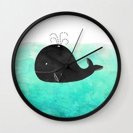 Cetacea Wall Clock