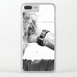 ed sheran Clear iPhone Case