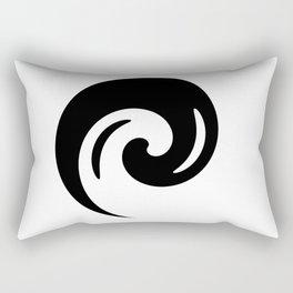 Yin Yang Exagerated Rectangular Pillow