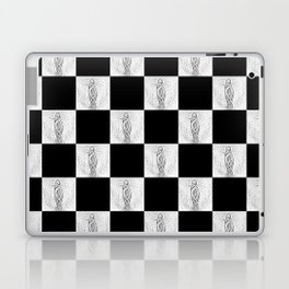Checkerboard Pussy Laptop & iPad Skin