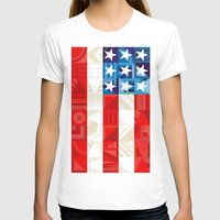 america T-shirts featuring America by Fimbis