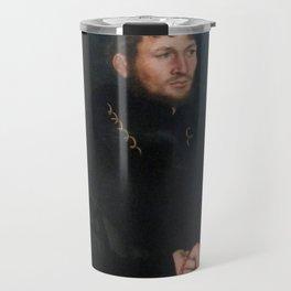 Lucas Cranach the Elder - Caspar von Köckeritz Travel Mug