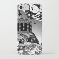 buildings iPhone & iPod Cases featuring Buildings by Spew Jersey