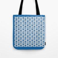 escher Tote Bags featuring Escher #005 by rob art | simple