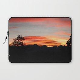 Mountain Sunset Laptop Sleeve