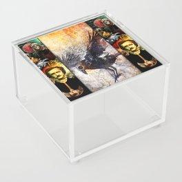 Edgar Allan Poe Acrylic Box