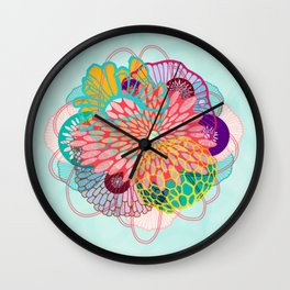 LUXE Bloom 2 Wall Clock