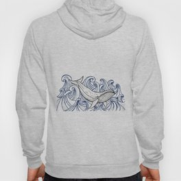 Whale Then Hoody