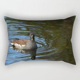 Common Moorhen Rectangular Pillow