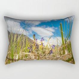 Summer in Connemara mountains Rectangular Pillow