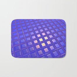 Patterned and Reflective Surface Bath Mat