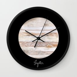 Jupiter #2 Wall Clock