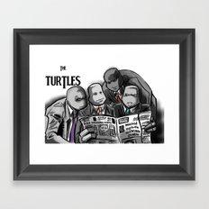Turtles 4 ... Framed Art Print