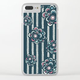 Defying Buds Sea Clear iPhone Case