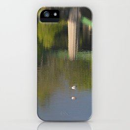 Summer Storm Clouds - Delaware River iPhone Case