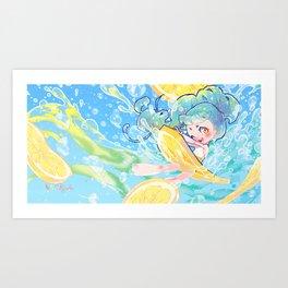 fizz Art Print