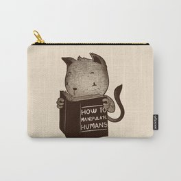 Cat Book How To Manipulate Humans Carry-All Pouch