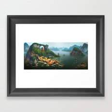 -Hometown- Framed Art Print