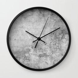 Concrete Cement Wall Clock