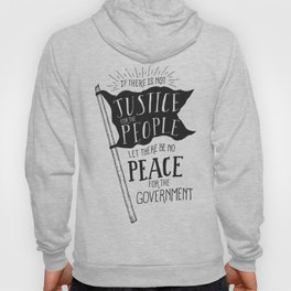 Justice for the People Hoody