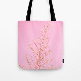 Seeds of Weeds in Pink Tote Bag