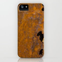 Holy Rusted Metal iPhone Case