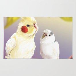 Budgie and Cockatiel Rug