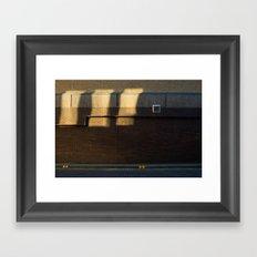 Surface Tension: Grosvenor Lane, Glasgow Framed Art Print