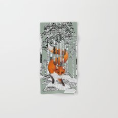 Fox Forest Hand & Bath Towel