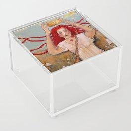 Crowning Herself Acrylic Box