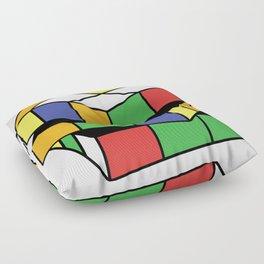 Retro Rubix Floor Pillow