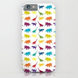Dino Parade iPhone Case