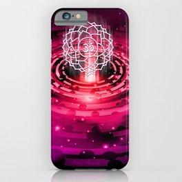 Cosmic Crown Chakra - v2.0 iPhone Case