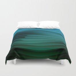 Green Sandstorm Duvet Cover