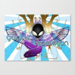 Galactic Federation of Light :: Goddess Strike Canvas Print
