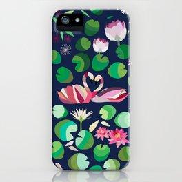 Pond Affair in color iPhone Case