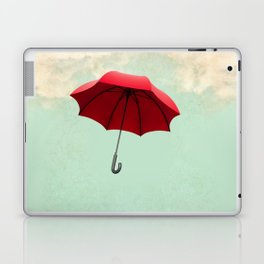 Red Umbrella Laptop & iPad Skin