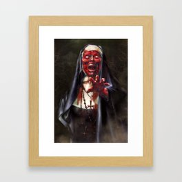 Mother Methuselah Framed Art Print