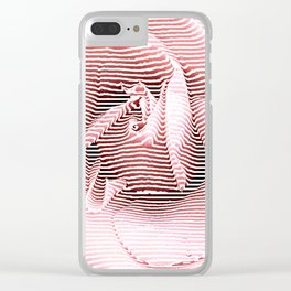 Thinking of a Rose Clear iPhone Case